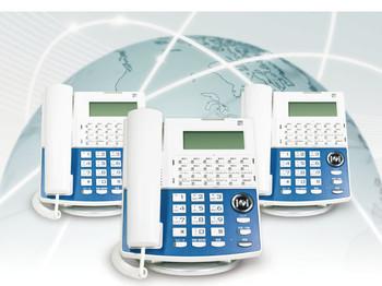 PBX(主装置)をクラウド化し、社内もスッキリ。増設やレイアウト変更も簡単になり、さらに転送機能でどこでも内線化!
