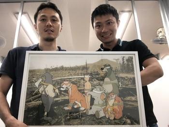 CEO藤川とCTO小林の二人で運営しています!