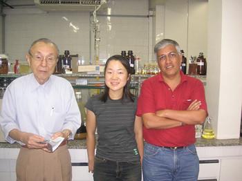 ブラジルと日本とで研究を続けています。