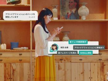 ユーザーをリアルタイムで解析し、ユーザーに合ったタイミングでメッセージを配信することが可能です。