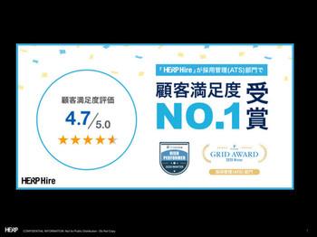 クラウドサービス口コミサイト『IT Review』において、顧客満足度No.1を獲得