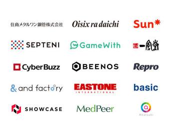 東証一部上場企業をはじめとする数十社の企業様にご導入いただいております