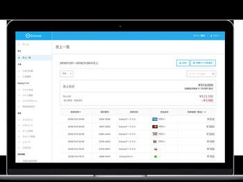 Web管理画面でPC・タブレット・スマートフォンから店舗管理が可能です。