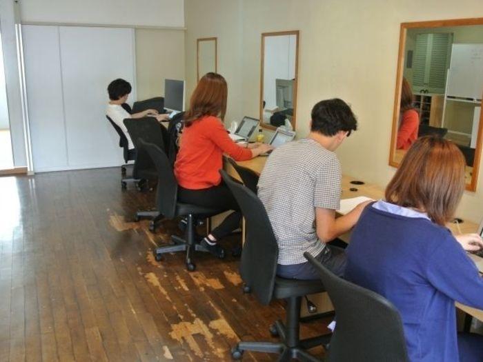 BPOを行う神奈川県鎌倉市にあるオフィスの様子です