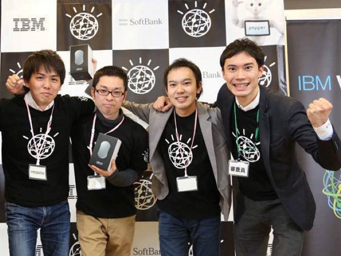 IBMが主催するAI開発コンテスト(Watsonハッカソン)にてアプリ賞を受賞しました。