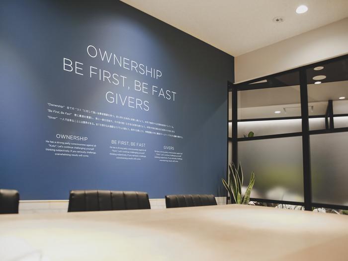 事務所は恵比寿駅徒歩1分にございますので、いつでもご来社ください。 スケルトンから一から作り上げました洗練されたオフィスにてお待ちしております。